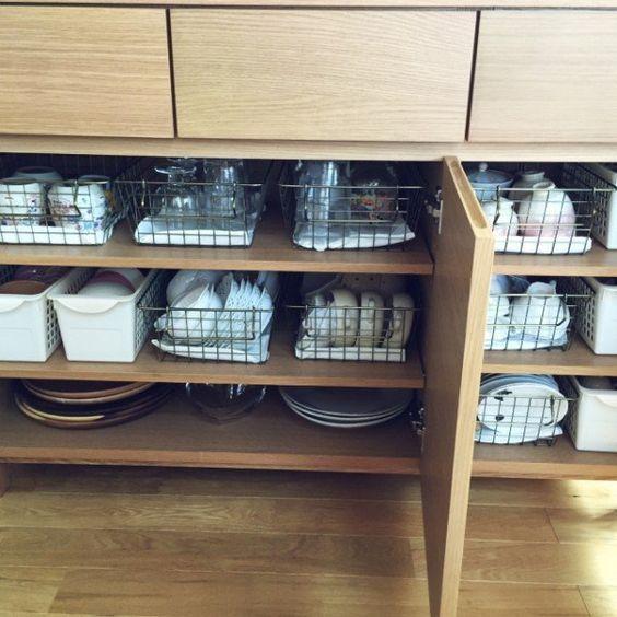 食器ってどうやって収納してるの?お洒落で機能的な収納方法16選☆   folk