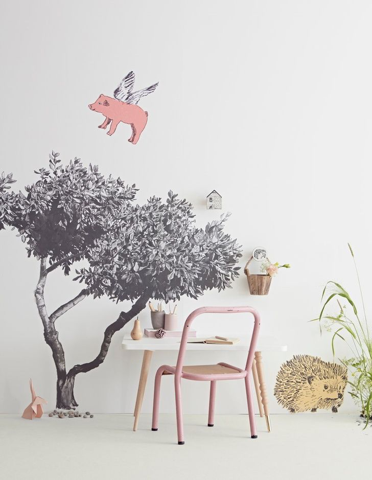 Add a little bit of creative magic to your #kidsroom with these amazing #wallstickers #petitandsmall #kidsroomdecor