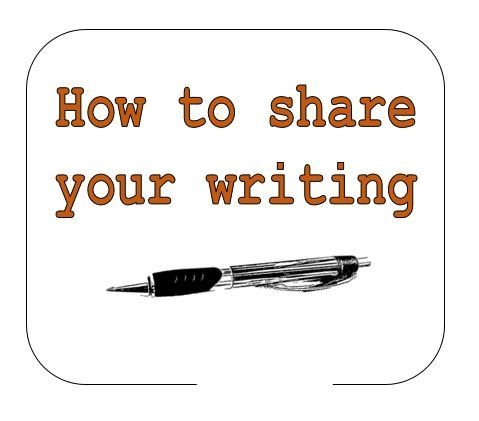 Share Your Writing