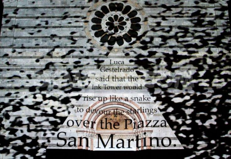 The tower/Lucca Hubris regia di Peter Greenaway Evento a cura di Cav Pietrasanta www.musapietrasanta.it/content.php?menu=eventi&nid=50