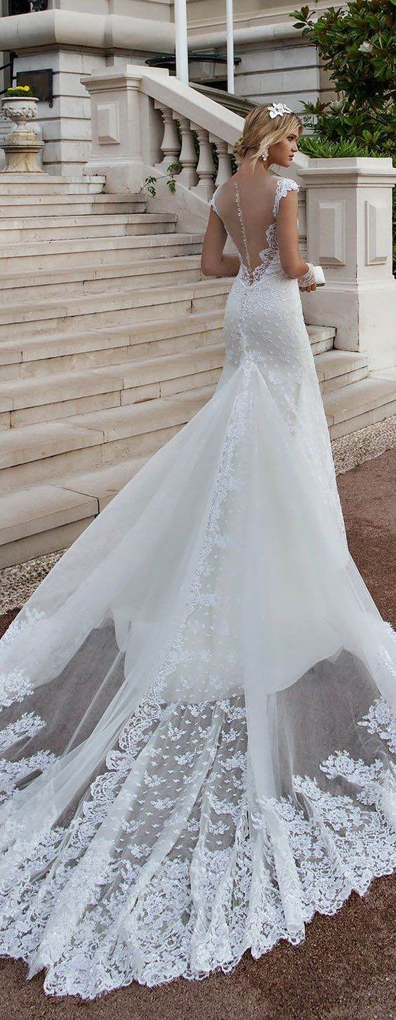 Featured Dress: Alessandra Rinaudo; Wedding dress idea.