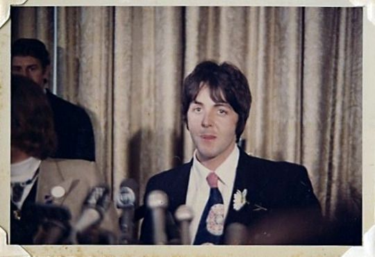 Apple Press Conference, NYC 1968