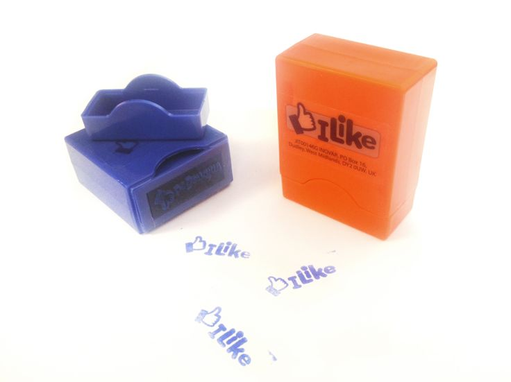 We like these! Ink stamps produced by IMI #facebook #like