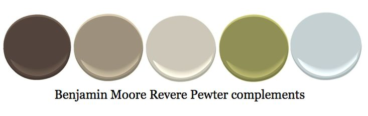 complementary colors to revere pewter wall colors pinterest pewter revere pewter and. Black Bedroom Furniture Sets. Home Design Ideas