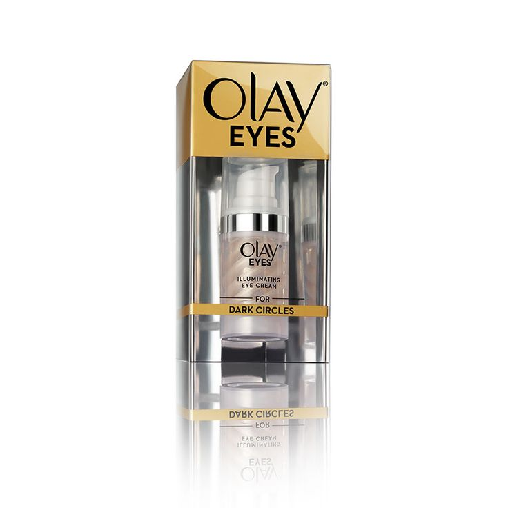 Olay Eyes Illuminating Eye Cream reduces the look of dark circles within 2 weeks. Instantly helps De-Circle tired-looking eyes to reflect a luminous glow.