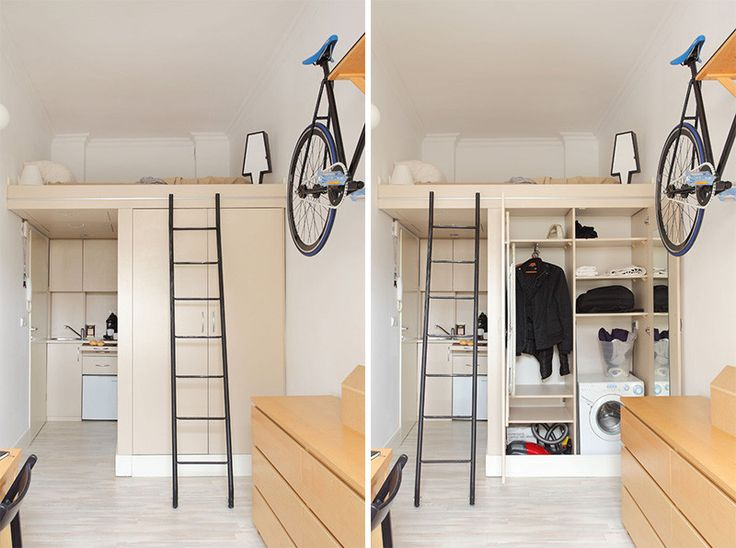 studio apartment loft bed. 9 Examples Of Loft Spaces That Have It All Figured Out  Studio Apartment 1924 best small spaces images on Pinterest Bedroom ideas