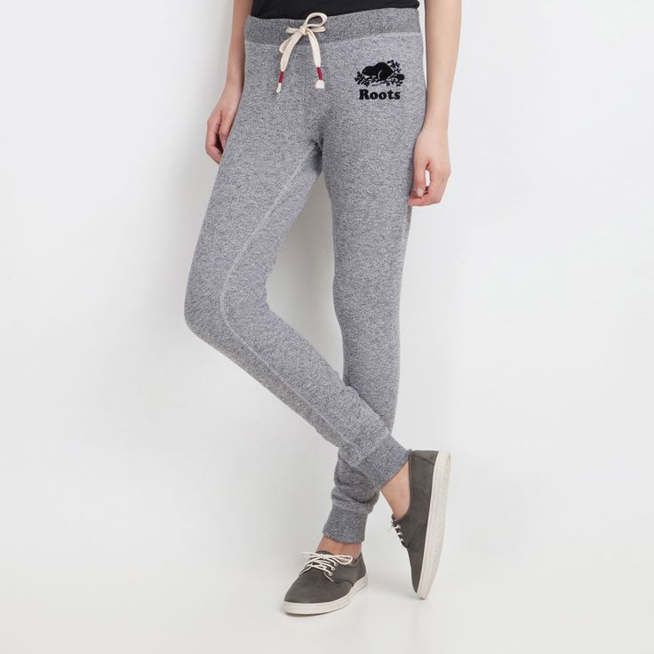 THIS. XS. Womens Skinny Cozy Sweatpant | Roots Sweatpants