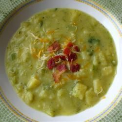 Leek and Potato Soup @ allrecipes.co.uk