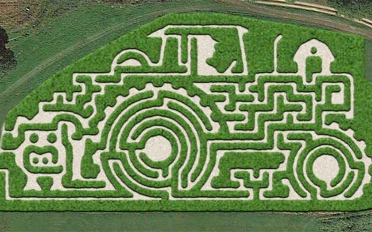 A-Maze-ing Corn Maze | Heaven Hill Farm