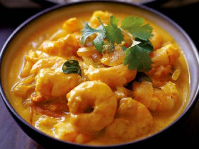 Divine Creamy Prawn Curry