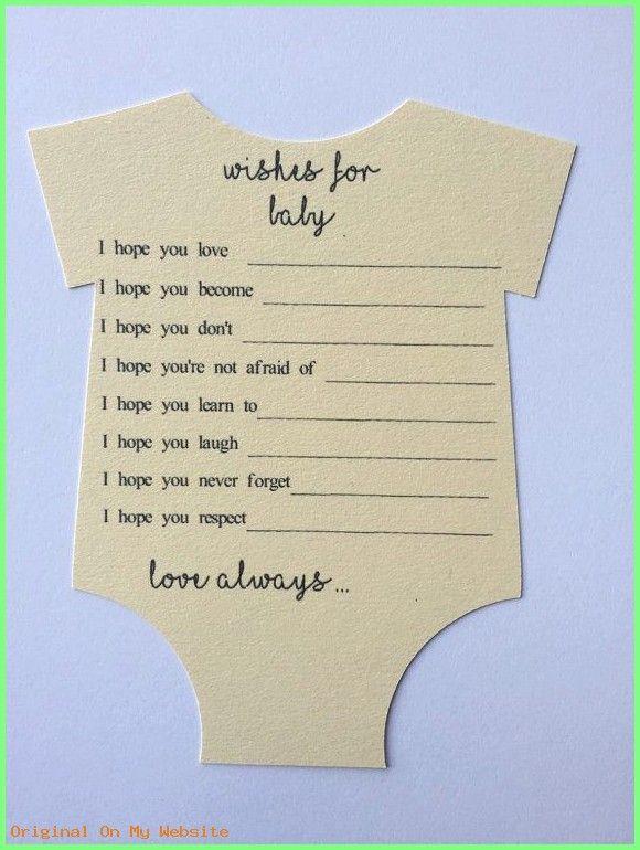 Baby Shower Karte Text.Baby Shower Ideas Super Nette Wunsche Fur Baby Karte Cut