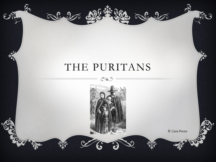 the puritan dilemma Study the puritan dilemma: the story of john winthrop (library of american biography) discussion and chapter questions and find the puritan dilemma: the story of john winthrop (library of american biography) study guide questions and answers.