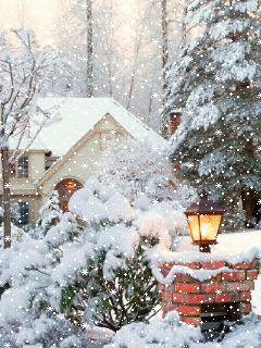 Картинки с разрешением 240 320 зима