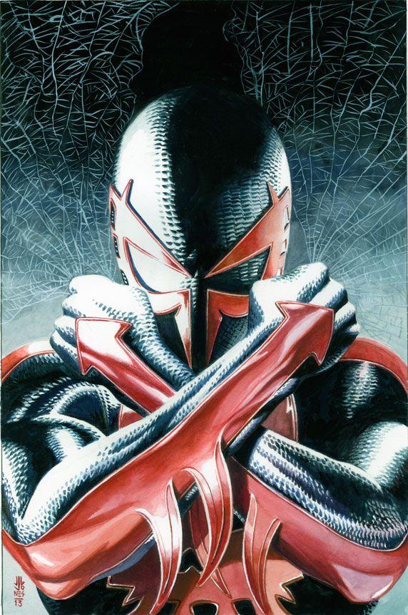 Homem Aranha 2099 de J.G. Jones.