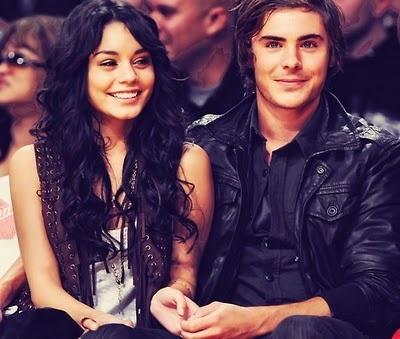 Zac and Vanessa. Still cute even though it's over!