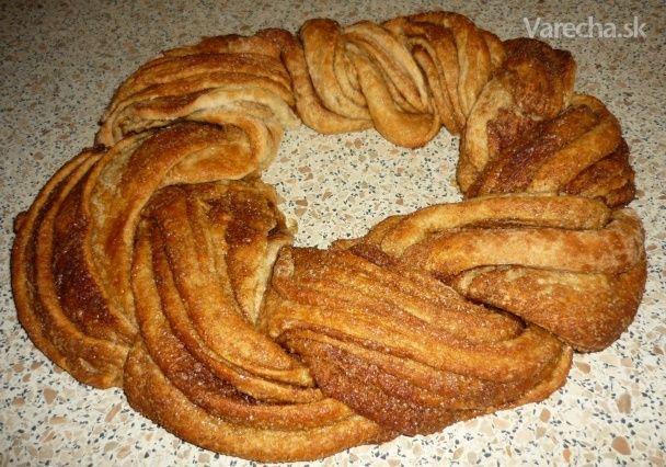 Celozrnný špaldový kringel (fotorecept) - Recept