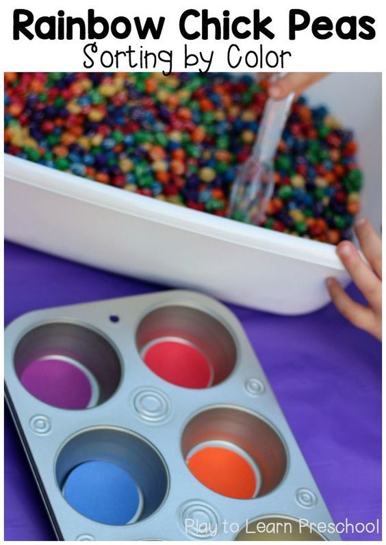 Color Sorting Fine Motor Practice