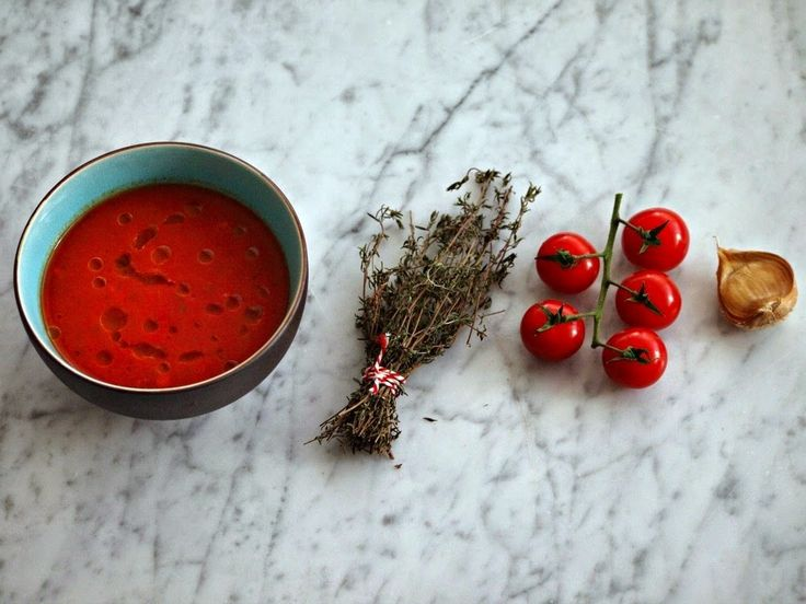 Luie tomaten soep snel recept