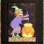 Crystal Witch Quilt Pattern 4525-5 - via @Craftsy