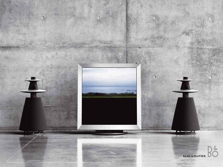 Bang & Olufsen TV (the speakers are not minimal, though)
