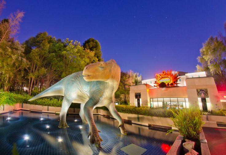 LOOOOOOOONG Exposure: Dinosaur at #Disney's Animal Kingdom. Read more: http://www.disneytouristblog.com/disney-animal-kingdoms-dinosaur/