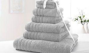 Groupon - Luxury 500gsm 7-Pc Egyptian Cotton Towel Bales. Groupon deal price: £16