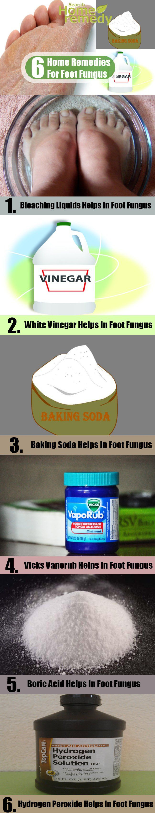 6 Effective Home Remedies For Foot Fungus