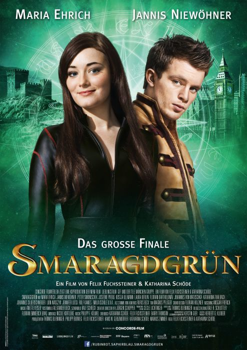 Smaragdgrün Kinotour 2016 Alle Termine, alle Daten   Kinostart: 7. Juli 2016   myBookBlog Buch Blog