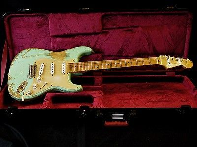 Fender Usa Custom Shop 1956 Stratocaster Relick / Used / Anodized Gold Pickguard