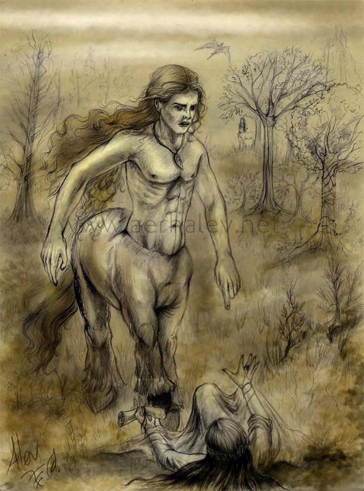 Centaur and Human