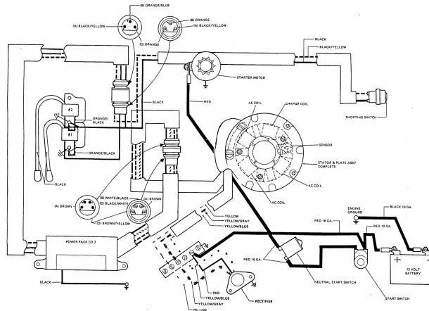 Johnson Boat Motor Parts Diagram Electric Choke Mercury Outboard Electrical Diagram
