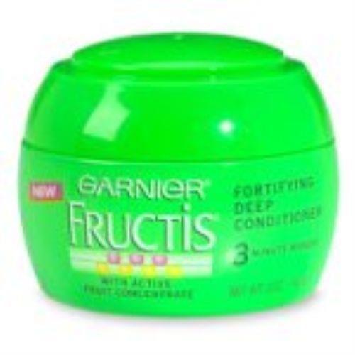 3 Garnier Fructis Fortifying Fortifying Deep Conditioner, 3 Minute Masque - 5 oz #garnier