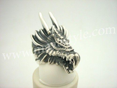 Anillo de dragón de plata esterlina de MAVASTYLE en Etsy https://www.etsy.com/es/listing/66656546/anillo-de-dragon-de-plata-esterlina