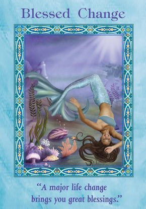 Oracle Card Blessed Change | Doreen Virtue - Official Angel Therapy Website