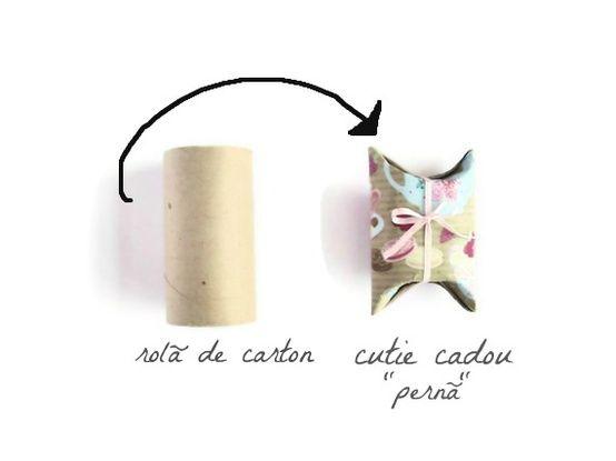 DIY : recycler rouleau papier toilette ...