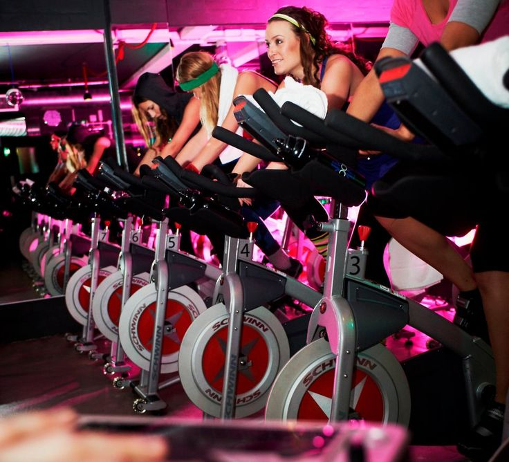 For an energetic workout in a darkened room to some cool music, head to BOOMcycle hidden in a side street of Shoreditch. You won't be disappointed!