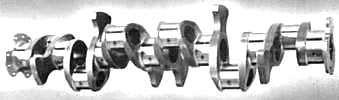 Cadillac-built crankshaft for Allison aircraft engines