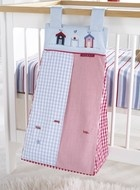 Diaper holder but make for a laundry hamper instead?