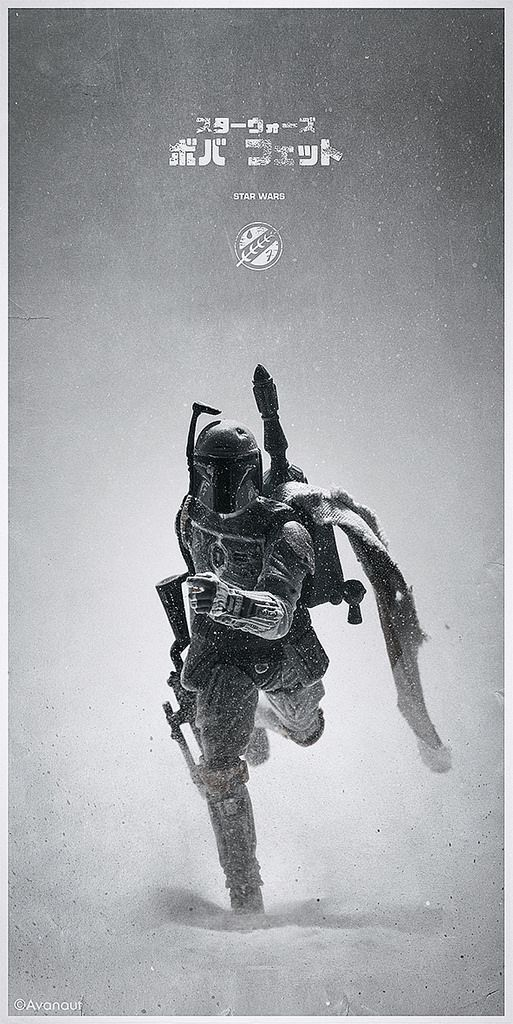 Star Wars Alternative Movie Poster by Avanaut – New Star Wars Series #starwars #bobafett