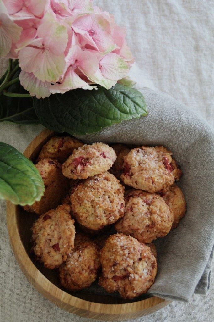 Jordbærcookies / strawberry cookies