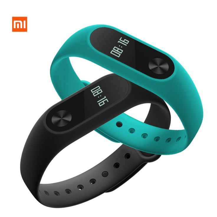 "Xiaomi 0.42"" OLED Touch Screen Mi Band 2 Smart Bracelet + Replace Band - Free Shipping - DealExtreme"