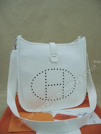 Hermes Evelyne Leather Handbag 025  $198.00