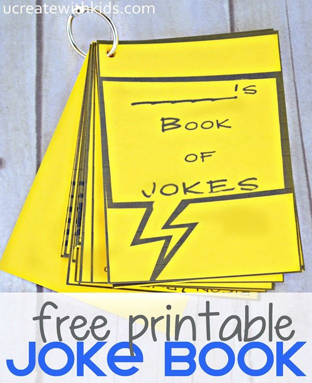 Happy APRIL FOOL'S DAY! My kids and I have compiled a small DIY JOKE BOOK with 14 of our most favorite jokes. It's a 4-page free printable just for you. Click on these links to print your joke pages: Page 1 Page 2 Page 3 Page 4 Next, cut jokes into rectangles by cutting on …