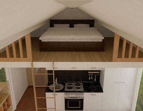Köp ditt Attefallshu , bygglovsfria 25 m2 hus tillverkat av de bästa materialen samt till ett lågt pris. Komplett med badrum och kök.