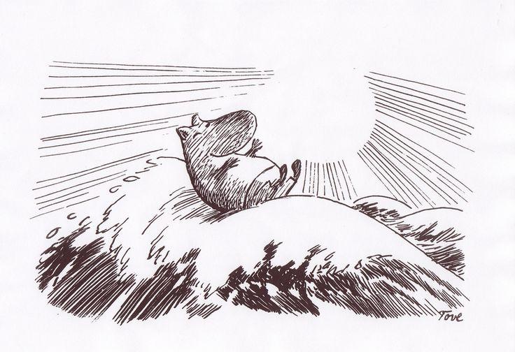 Very happy Moomin :D http://fuckyeahmoomins.tumblr.com/image/82101806034