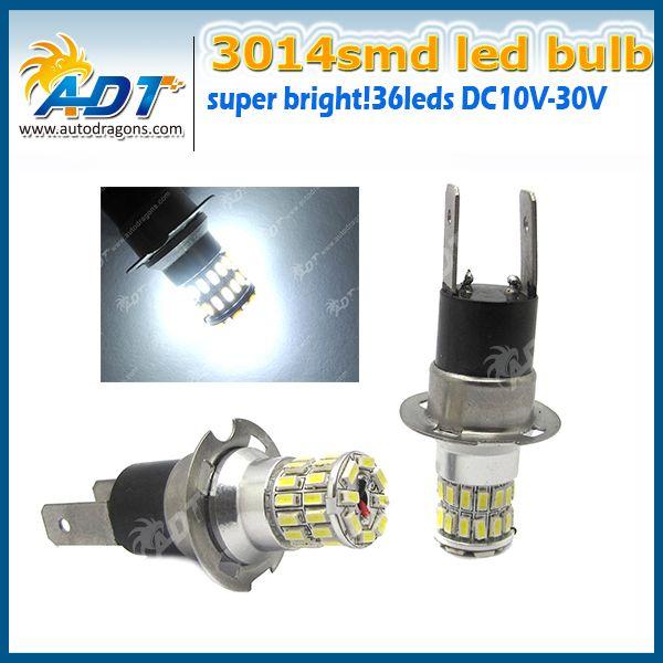 Superb X Fog Lights Auto Car Led HC DRL Headlight Bulb Lamp V W Super White K