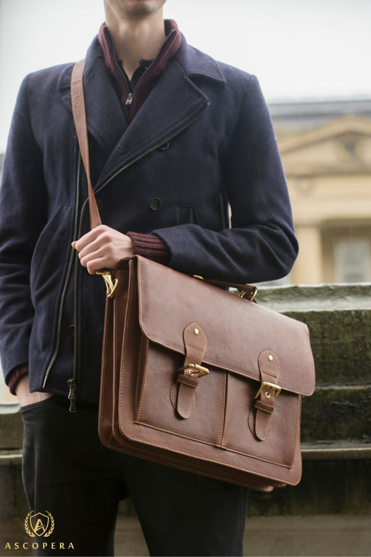 The Buffalo leather satchel for men is the ideal companion for daily use and will be a permanent fixture. This men's leather work bag is perfect for a laptop in addition, to any business man's work essentials. Additionally, it is perfect for travel and the shoulder strap can be adjusted fully. Find out more here - https://www.ascopera.com/shop/mens-leather-bags/buffalo-mens-leather-satchel-brown-tan/