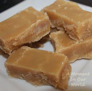 A Moment in Our World: Melktart Fudge (Milk Tart Fudge)