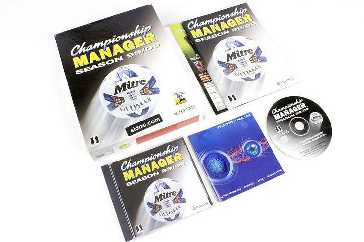 Championship Manager Season 99/00 for Championship Manager 3, Big Box, 1999