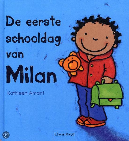 bol.com | De eerste schooldag van Milan, Kathleen Amant | Boeken